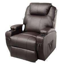 costway ergonomic deluxe massage recliner sofa chair lounge