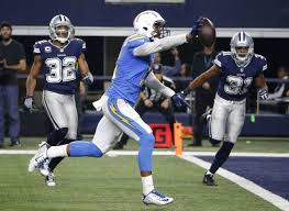rivers chargers beat fading cowboys 28 6 on thanksgiving