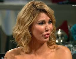 brandi house wives of beverly hills short hair cut real housewives brandi glanville turns on andy cohen during