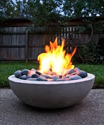Concrete Fire Pit by How To Make Modern Concrete Fire Pit Diy U0026 Crafts Handimania