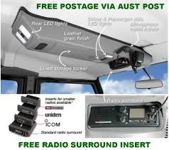 outback accessories roof consoles 4x4 toyota landcruiser 100