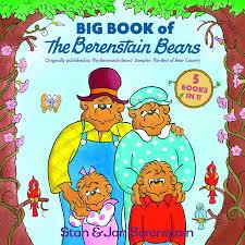 berenstien bears big book of the berenstain bears by stan berenstain jan
