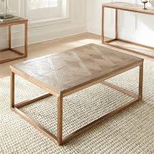 Driftwood Sofa Table by Steve Silver Gino Coffee Table In Soft Driftwood Gn700c