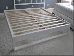 modern bed plans easy to build diy platform bed designs platform