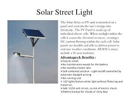 Solar Energy Lighting - harnessing solar energy by team