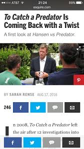 To Catch A Predator Meme - to catch a predator will be coming back hopefully has hanson v