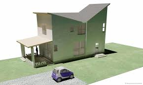 Slope House Collections Of House Plans Single Slope Roof Free Home Designs