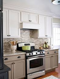 white and taupe lower kitchen cabinets 15 ways to update your kitchen with paint taupe kitchen