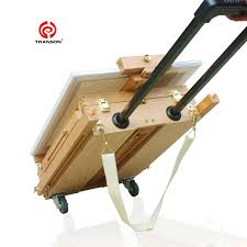 aliexpress com buy adjustable wooden artist tabletop easel with