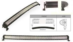 Led Curved Light Bar by Larsen Lights Led Lights For Your Equipment
