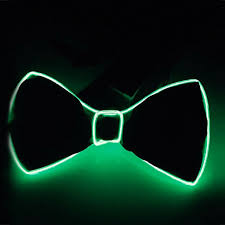 light up bow tie light up el wire bow tie led lights bowtie for party wedding
