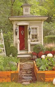 Shed Homes Plans Relaxshacks Com A Tiny Victorian Outhouse As A Small Garden Shed
