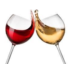 white and wine glasses sheena lambert