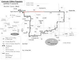 Meeker Colorado Map by Colorado Brevets 2016 Schedule