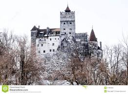 bran dracula castle winter season editorial image image 51893500