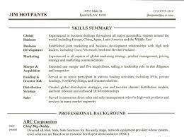 executive resume marketing summary example fina peppapp