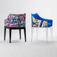 madame pucci chaise avec accoudoirs kartell ambientedirect com