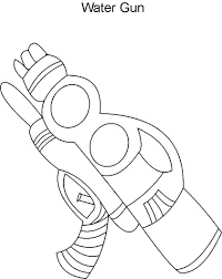 water gun coloring pages coloringstar