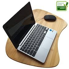 Laptop Desk With Cushion Bamboo Laptop Desk Of Large Size
