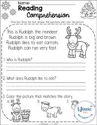 kindergarten reading passage 80 best reading comprehension images on reading