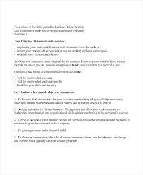 objective statement on resume u2013 okurgezer co
