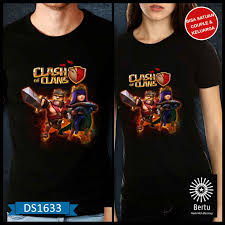 clash of clans archer queen t shirt barbarian king u0026 archer queen clash of the clans jual