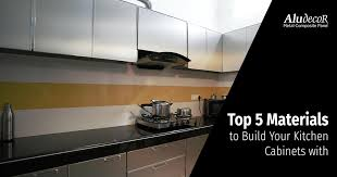 kitchen cabinets top material top 5 materials to build your kitchen cabinets with
