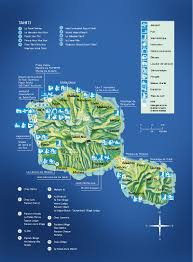 French Polynesia Map Tahiti Island Guide French Polynesia Tahiti Honeymoon Specials