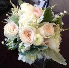 wedding flowers valley of the valley blush garden bouquet wedding flowers