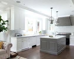 Grey Glass Backsplash by White Kitchen With Grey Subway Tile Backsplash White Kitchen