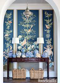 Gallery For Gt Light Blue And Gold Bedroom by 75 Foyer Decorating Ideas Design Pictures Of Foyers House
