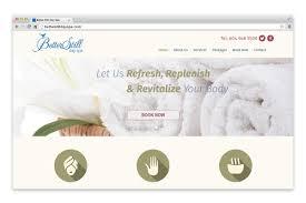 better still day spa website by netclimber web design inc