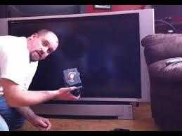 dlp tv light bulb replacement 50 panasonic dlp tv repair my free tv youtube