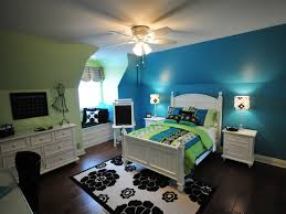turquoise and lime green bedroom home decorating inspiration