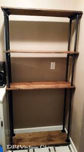 ideas home depot racks wood bakers rack collapsible rack