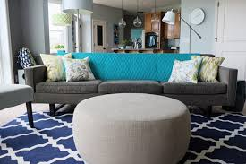 Teal Living Room Rug by How To Create Your Decorating Accent Color Palette Of