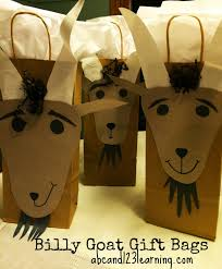 abc and 123 ideas for throwing a three billy goats gruff fairy