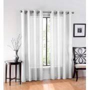 White Sheer Curtains Sheer Curtains Walmart