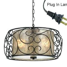 convert hardwire light to plug in awesome convert pendant light to plug in for best pendant lighting