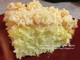 Homemade Coconut Cake by Addicted To Recipes Lazy Daisy Cake With Coconut Topping