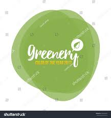 color of year 2017 color year 2017 greenery beautiful trendy stock vector 532844440
