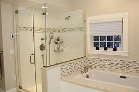 Shower Stall With Door Installing A Glass Shower Stall Encolsure How To