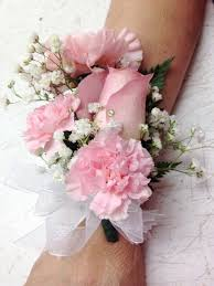 pink corsage specialty corsages boutonnieres florist flower delivery