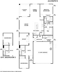 richmond american homes floor plans new homes in surprise az home builders in sycamore farms by