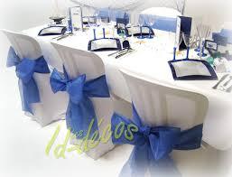 mariage bleu et blanc décoration table de mariage décorations pour mariage bleu marine