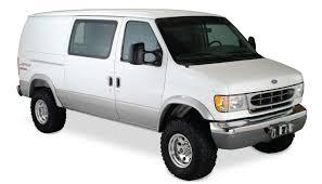 amazon com bushwacker 22003 11 ford extend a fender flare front
