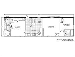 Fleetwood Manufactured Home Floor Plans Eagle 16562x Fleetwood Homes