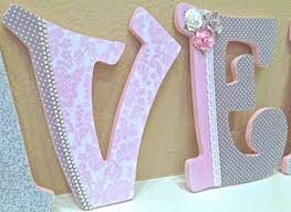 Decorative Wall Letters Nursery Baby Nursery Decor Adorable Sle Letters For Names In Baby