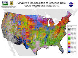 United States Map Weather by Spring Frost Freeze Page