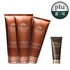 Plu Scrub qoo10 korean no 1 scrub renewal pull plu